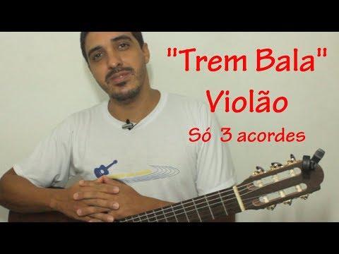 """Música """"TREM BALA"""" Ana Vilela LIÇÃO1"""