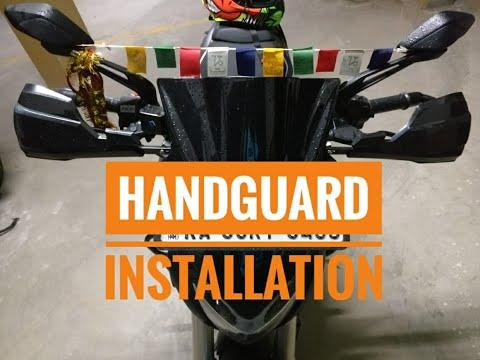 Handguard Installation In Dominar 2019|Modification For Dominar 400