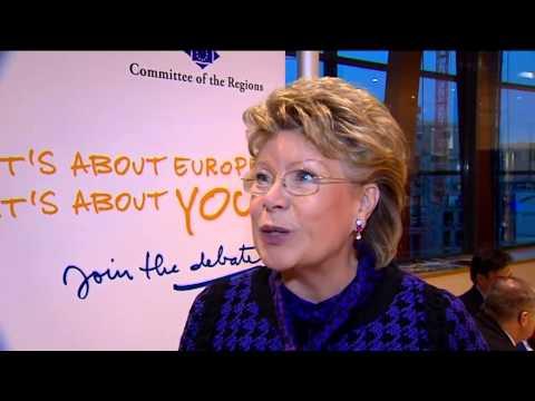 European Commissioner Viviane Reding on EU citizenship.