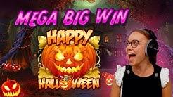 🎃🎃🎃 Mega Big Win 💸 HAPPY HALL🎃WEEN