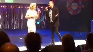 Jamai Loman en Sandra Reemer - Songfestival Ding-a-Dong-Sing-a-long