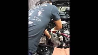 Mercedes Benz oil leak repair, learn from a Pro