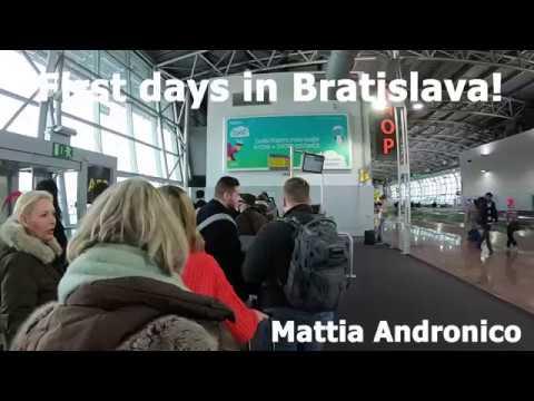 First days in Bratislava