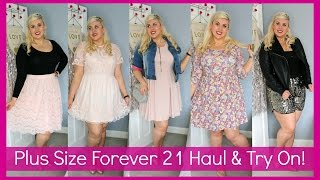 Plus Size Forever 21 HAUL & TRY ON!!