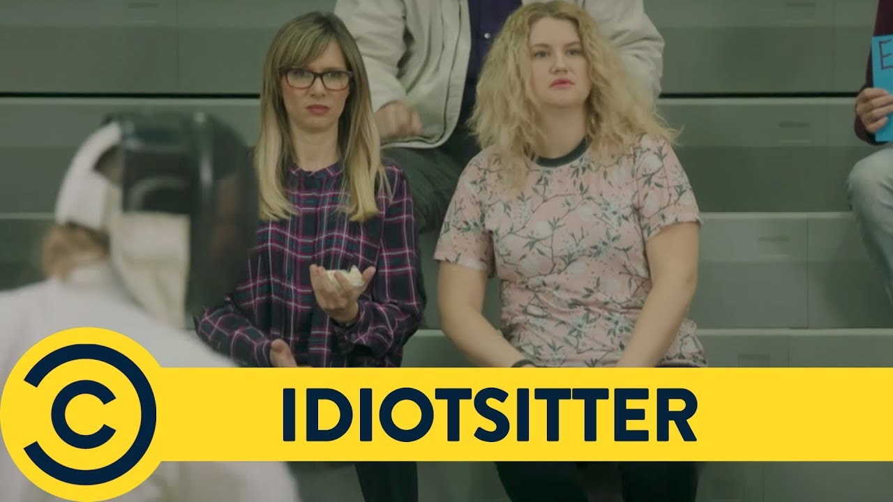Download Fencing Looks Fun - Idiotsitter   Comedy Central UK