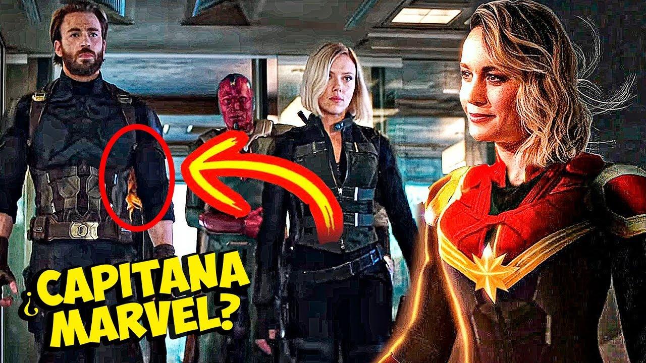 Capitana Marvel Sale En Los Vengadores Trailer