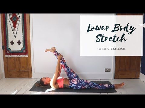 LOWER BODY STRETCH | 10-Minute Yoga | CAT MEFFAN