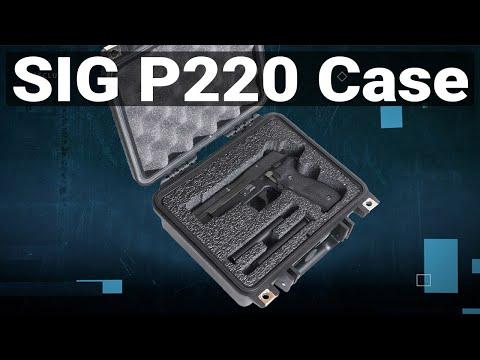 Sig Sauer P220 Pistol Case - Video