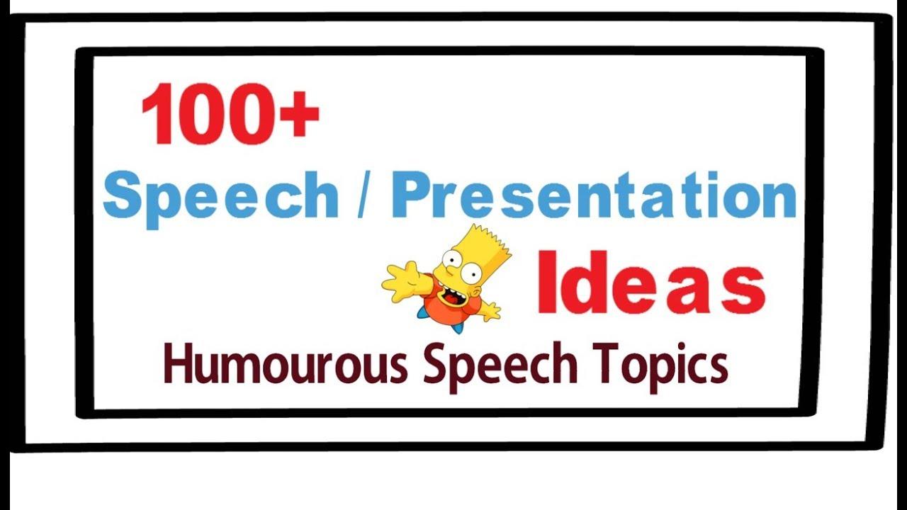 fun persuasive speech topic ideas