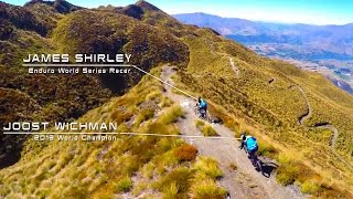 Lords of the trails - James Shirley & Joost Wichman riding the Radon Slide Carbon in New Zealand