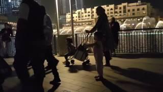 Dubai fountain show just spectacular