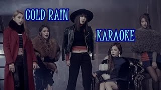 4Minute - Cold Rain Karaoke with backing voice