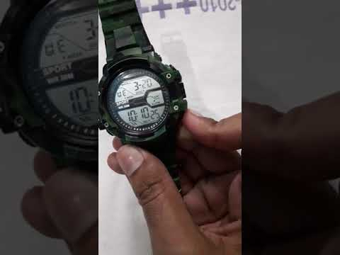How To Set Time In Sport Watch