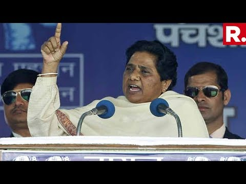 BSP Chief Mayawati Targets PM Modi At Public Rally In Varanasi, Uttar Pradesh