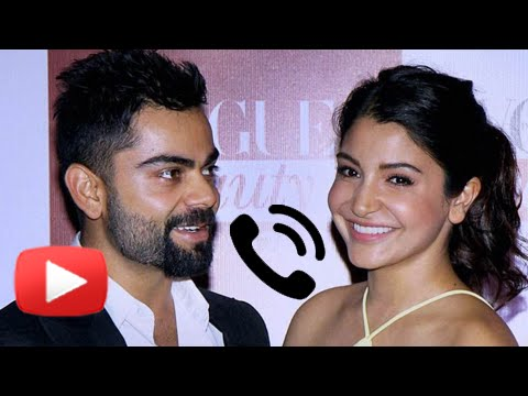 Anushka Sharma's Phone Call To Virat Kohli - Asia Cup 2016