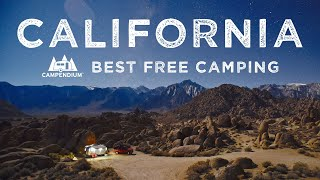 Best Places to Cąmp for Free in California