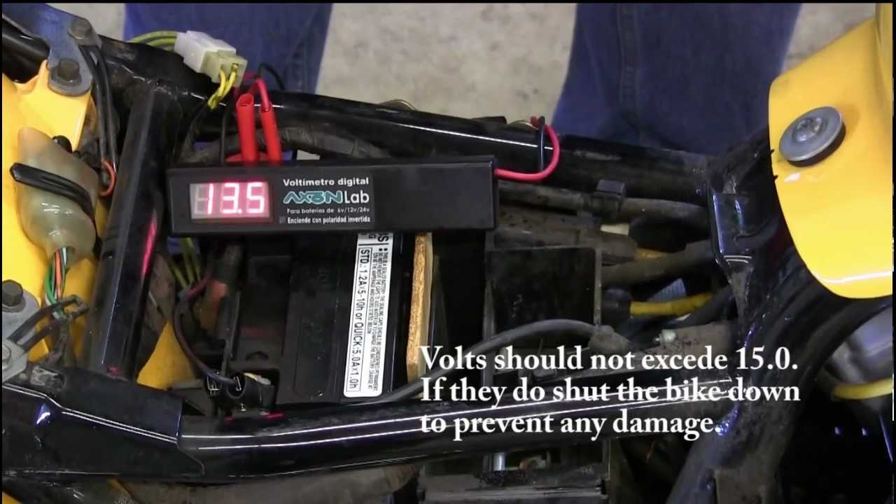 hight resolution of rick s motorsport electrics inc how to test a motorcycle rectifier regulator youtube