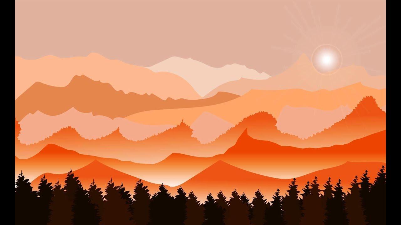 adobe illustrator cc landscape tutorial