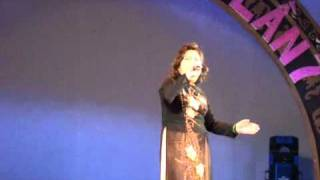 2 câu vọng cổ (trích Nhụy Kiều tướng quân) (22-10-2011) - NSƯT Diệu Hiền