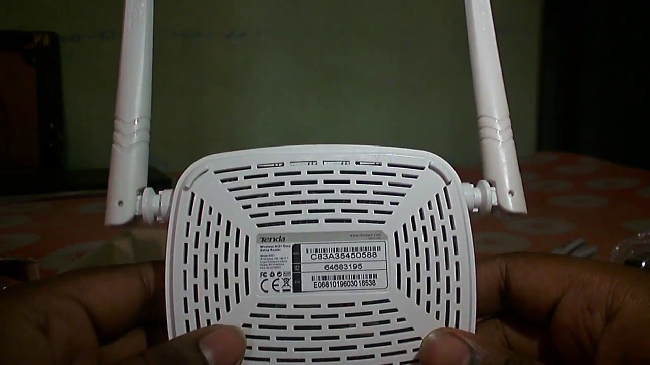 Tenda N301 Wireless N300 Router Unboxing Cheapest Dual Antenna