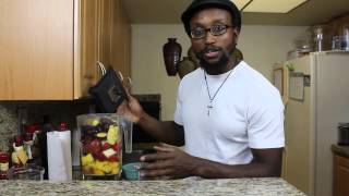 Fruit Smoothie W/  Sea Moss, Ginger And Turmeric Recipe