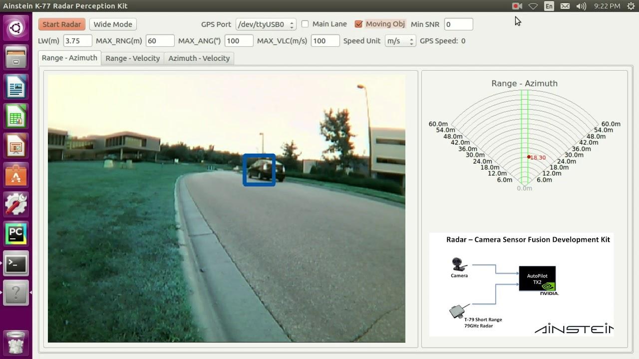 Ainstein Introduces 79 GHz Automotive Short Range Radar T-79 - Ainstein