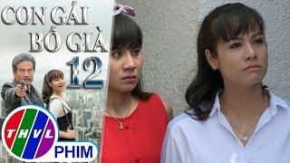 THVL | Con gái bố già - Tập 12[3]: Kim Cương trách ba chuyện gì cũng cấm đoán mình