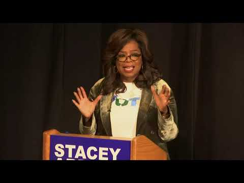 DJ Frosty - Oprah campaigns for Stacey Abrams in Georgia
