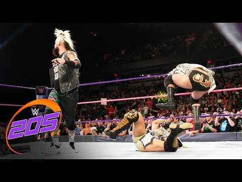 Enzo Amore and Ariya Daivari attack Kalisto: WWE 205 Live, Oct. 10, 2017