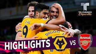 Wolverhampton vs. Arsenal: 3-1 Goals & Highlights | Premier League | Telemundo Deportes