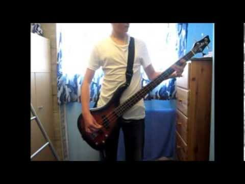 Linkin Park Castle Of Glass Bass Cover With Tab Youtube