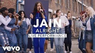 Jain - Alright (Live) I Vevo X