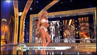 Miss America 2014 swimsuit (BIKINI) Rampwalk Event Full