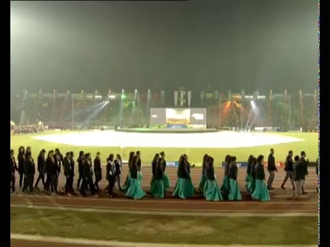 12th South Asian Games Opening Ceremony in Guwahati, Assam