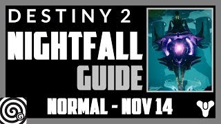 Destiny 2 - Nightfall guide Savathuns Song week 11 nov 14th - All Anomaly locations
