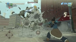 The Legend of Korra (PC) - How to Defeat Mega Tank Robot Boss Battle
