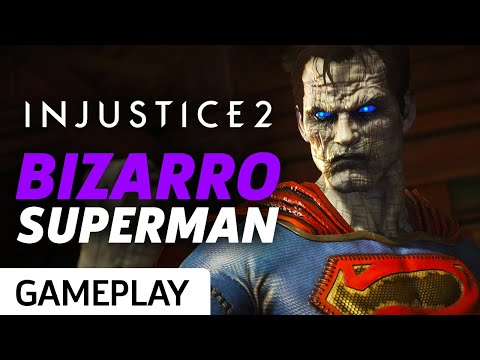 Injustice 2 - Bizarro Superman Premiere Skin Gameplay