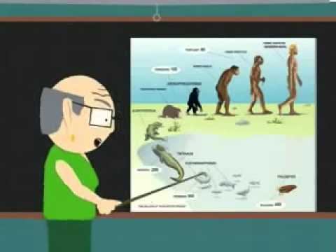 Theory Of Evolution By Mr Garrison SOUTH PARK