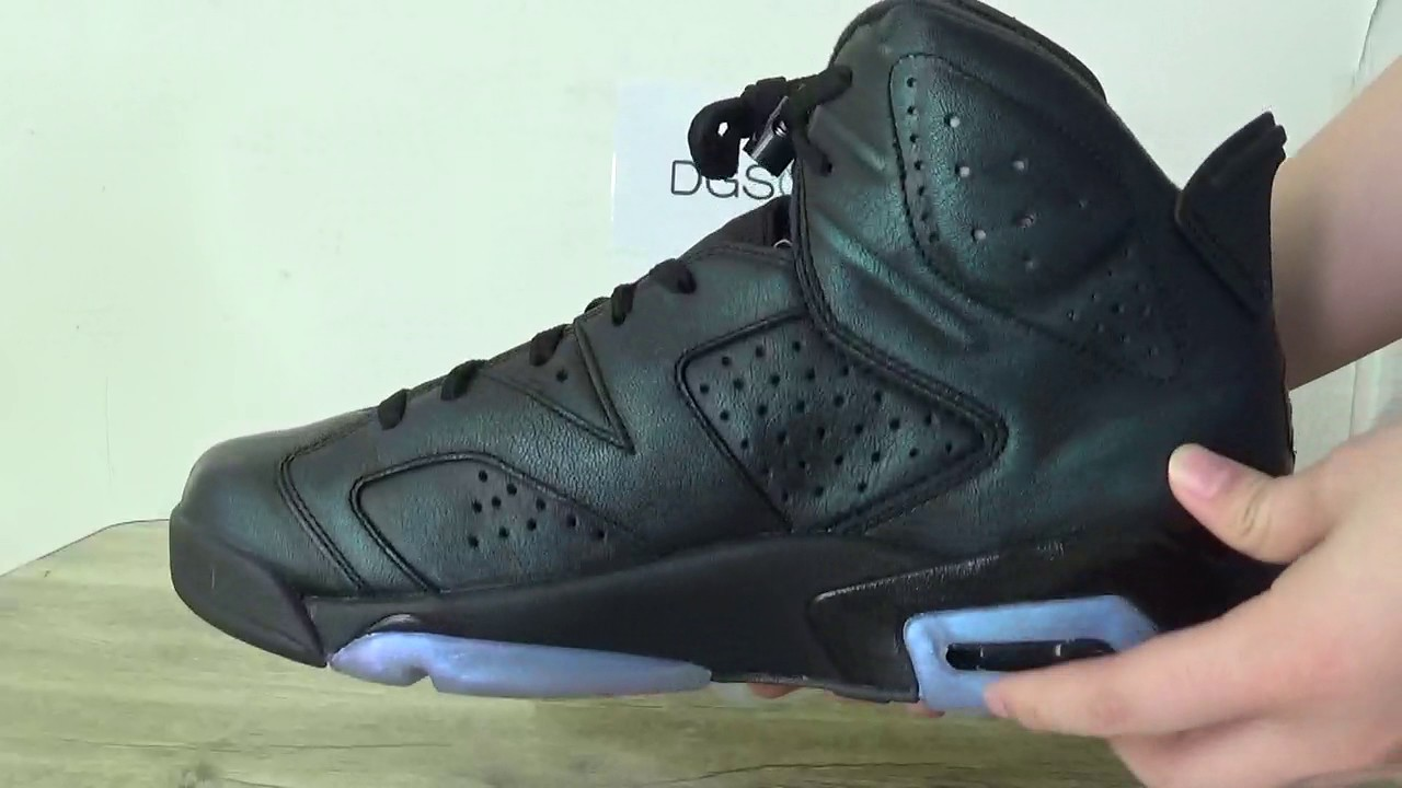 458de3e8b4f Jordan 6 Chameleon On feet review - YouTube