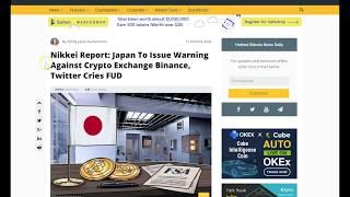 FAKE BINANCE NEWS - WHAT HAPPENED TO CRYPTO MARKET TODAY