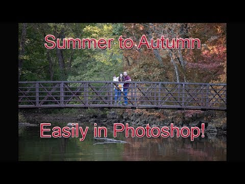 Photoshop Tutorial: Easily Change Summer to Fall. thumbnail