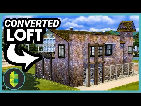 Converted Loft (Sims 4 Build) thumbnail