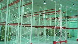 Паллетные стеллажи для склада(Для фармацевтической компании был оборудован склад паллетными стеллажами. Хранение продукции на паллетны..., 2015-04-27T09:46:13.000Z)