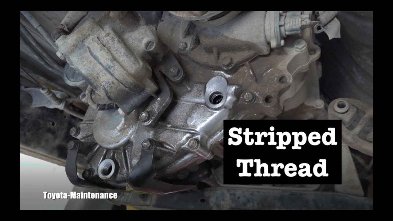 Tacoma transfer case stripped thread