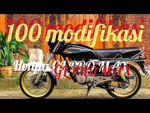100 INSPIRASI MODIFIKASI HONDA GL PRO GL MAX