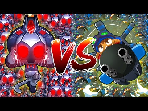 HELI VS SUPER MONKEY TEMPLES :: INSANE BANANZA LATE GAME - Bloons TD Battles