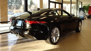 2015 Jaguar F-Type F Type S Coupe in Ebony Black Paint - My Car Story with Lou Costabile