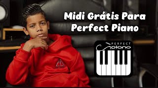 Midi Para Praticar No Perfect Piano - Jogo Do Amor - MC Bruninho