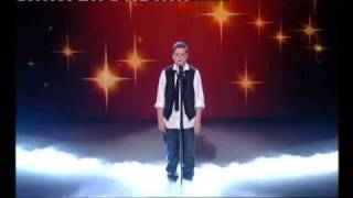 LIAM McNALLY SINGS YOU RAISE ME UP FOR BRITAIN