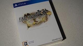 Огляд і розпакування Final Fantasy Type-0 HD - Колекційне видання